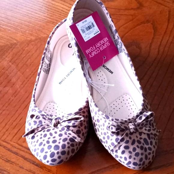SO Memory Foam Leopard Print shoes